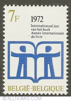 7 Francs 1972 - International Year of the Book