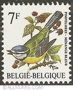Image #1 of 7 Francs 1987 - Blue Tit