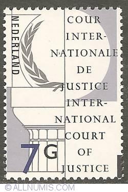 Image #1 of 7 Gulden 1989 - Emblem of the Intl. Court of Justice
