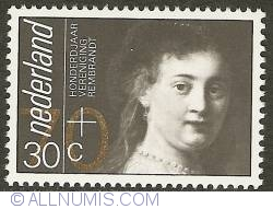 70 + 30 Cent 1983 - Centenary of Vereniging Rembrandt