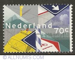 Image #1 of 70 Cent 1983 - Centenary of A.N.W.B. (Royal Dutch Touring Club)