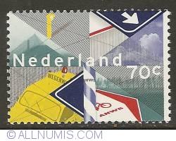 70 Cent 1983 - Centenary of A.N.W.B. (Royal Dutch Touring Club)
