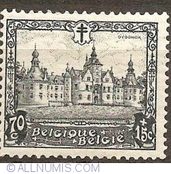 Image #1 of 70+15 Centimes 1930 - Castle of Ooidonk