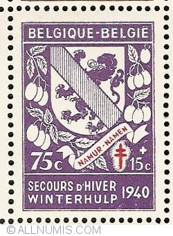 Image #1 of 75 + 15 Centimes 1941 - Namur