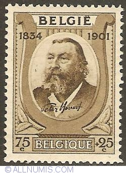 Image #1 of 75 + 25 Centimes 1934 - Peter Benoit