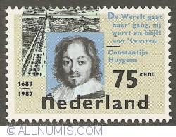 Image #1 of 75 Cent 1987 - Constantijn Huygens