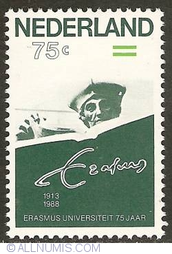 Image #1 of 75 Cent 1988 - 75th Anniversary of Erasmus University