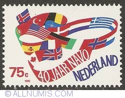 Image #1 of 75 Cent 1989 - 40th Anniversary of NATO