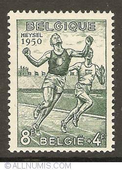 Imaginea #1 a 8 + 4 Francs 1950 - Finish line