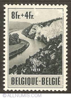 8 + 4 Francs 1953 - Freyr
