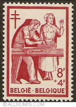 Image #1 of 8 + 4 Francs 1956 - Revalidation