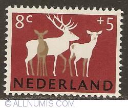 Image #1 of 8 + 5 Cent 1964 - Deer