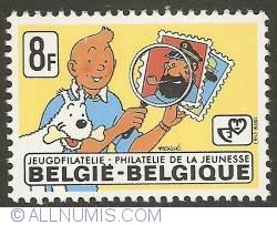 8 Francs 1979 - Tintin