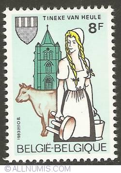 Image #1 of 8 Francs 1983 - Tineke van Heule