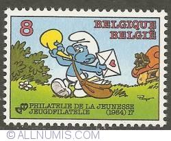 Imaginea #1 a 8 Francs 1984 - Post Smurf