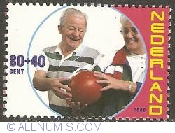 Image #1 of 80 + 40 Cent 2000 - Elderly People - Bowlers
