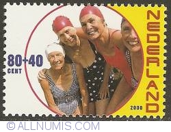 Image #1 of 80 + 40 Cent 2000 - Elderly People - Swimmers