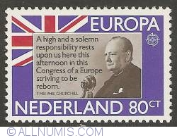 Imaginea #1 a 80 Cent 1980 - Sir Winston Churchill