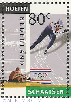 Image #1 of 80 Cent 1992 - Olympics - Rowing - Skating