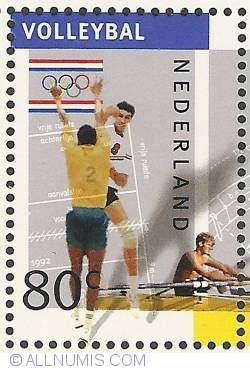Image #1 of 80 Cent 1992 - Olympics - Volleyball - Rowing