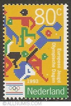 Image #1 of 80 Cent 1993 - European Youth Olympic Days