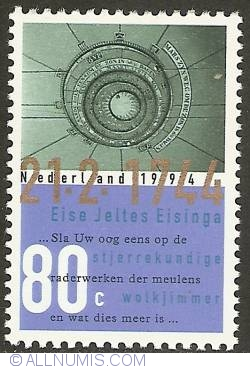Imaginea #1 a 80 Cent 1994 - Eise Eisinga Planetarium