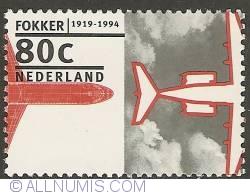 Image #1 of 80 Cent 1994 - Fokker