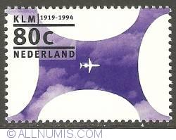 Image #1 of 80 Cent 1994 - K.L.M. Royal Dutch Airlines