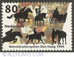 Image #1 of 80 Cent 1994 - World Games for Horse-related Sports
