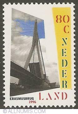 Imaginea #1 a 80 Cent 1996 - Erasmus Bridge - Rotterdam