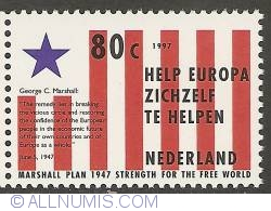 80 Cent 1997 - 50th Anniversary of Marshall Plan