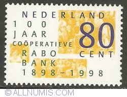 Image #1 of 80 Cent 1998 - 100 Years of Rabobank