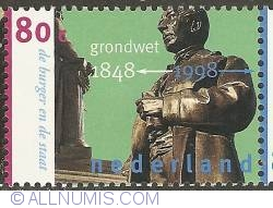 Image #1 of 80 Cent 1998 - 150 Years of Dutch Constitution