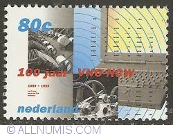 Image #1 of 80 Cent 1999 - 100 Years of Confederation of Industry and Employers