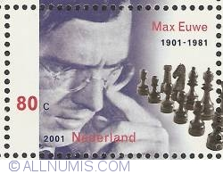 Image #1 of 80 Cent 2001 - Chess - Max Euwe