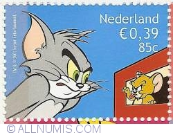 85 Cent - 0,39 Euro 2001 - Cartoons - Tom and Jerry