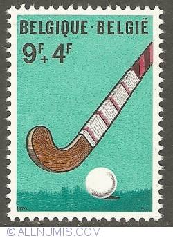 Image #1 of 9 + 4 Francs 1970 - Hockey