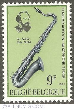 Image #1 of 9 Francs 1973 - Tenor Saxophone