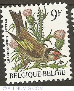 Image #1 of 9 Francs 1985 - European Goldfinch