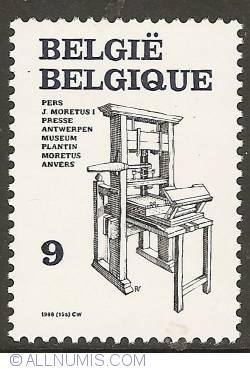 Image #1 of 9 Francs 1988 - Press of Jan Moretus I