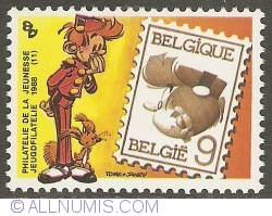 Image #1 of 9 Francs 1988 - Spirou