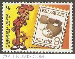 Imaginea #1 a 9 Francs 1988 - Spirou