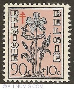 Image #1 of 90 + 10 Centimes 1949 - Vinca