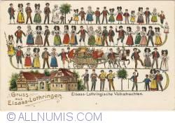 Image #1 of Alsace-Lorraine - Folkloristic Costumes