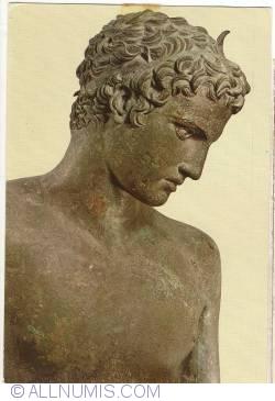 Image #1 of Athens - National Archaeological Museum. Ephebe of Marathon (350 B.C.) (1979)
