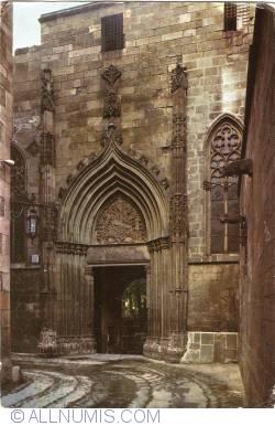 Image #1 of Barcelona - Barrio Gotico. Cathedral. Piety's Door (1953)