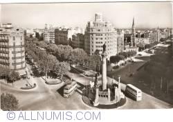 Barcelona - Jacinto Verdaguer Square (1961)