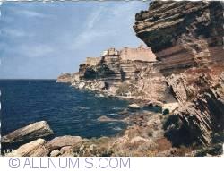 Image #1 of Bonifacio (Corsica) - Cliffs south side (Les Falaises côté sud) (1959)