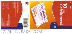 Booklet 10 x 0,39 Euro 2002 - Congratulations