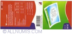 Booklet 10 x 85 Cent - 0,39 Euro 2001